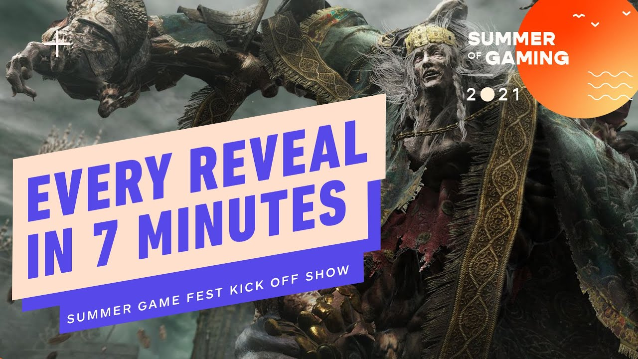 Every Reveal From Summer Game Fest Kick-Off Show in 7 Minutes - Summer of Gaming 2021