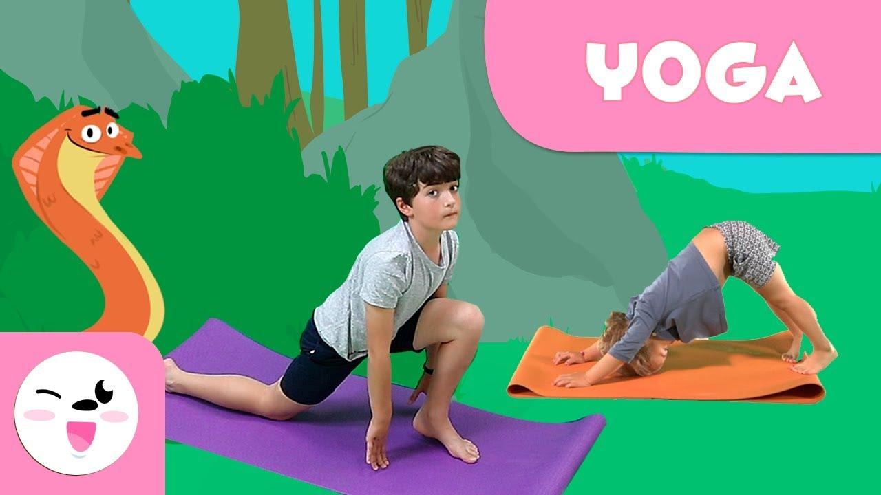 Sun Salutations Amp Yoga With Animals Yoga For Kids Youtube