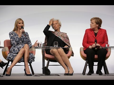 Ivanka Trump Speaks at Berlin Event regarding Woman Empowement with Angela Merkel: Gets Booed!!!!