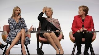 Ivanka Trump Speaks at Berlin Event regarding Woman Empowement with Angela Merkel: Gets Booed!!!!