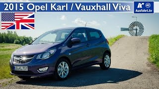 2015 Opel Karl / Vauxhall Viva - Test, Test Drive and In-Depth Car Review (English)