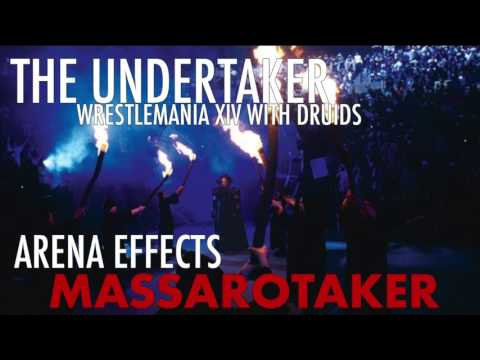 WWE THE UNDERTAKER WRESTLEMANIA XIV WITH DRUIDS -  ARENA EFFECTS THEME SONG