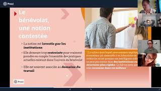 Conférence: «Professionnalisation du bénévolat - Cartographie du bénévolat»