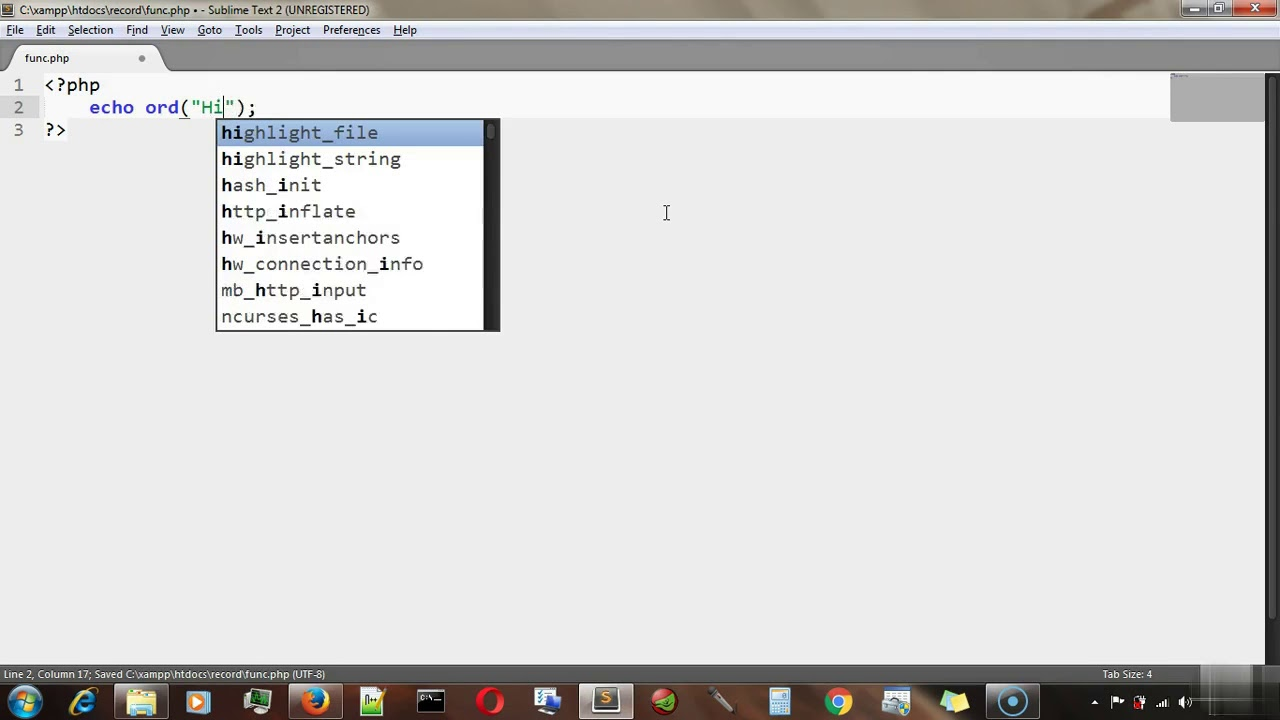 PHP tutorial for beginners - PHP string length, PHP string functions Part 1 #22