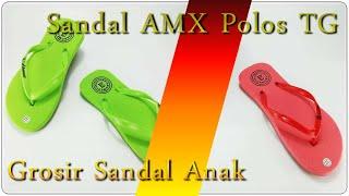 sandal jepit murah AMX Polos  anak Tanggung
