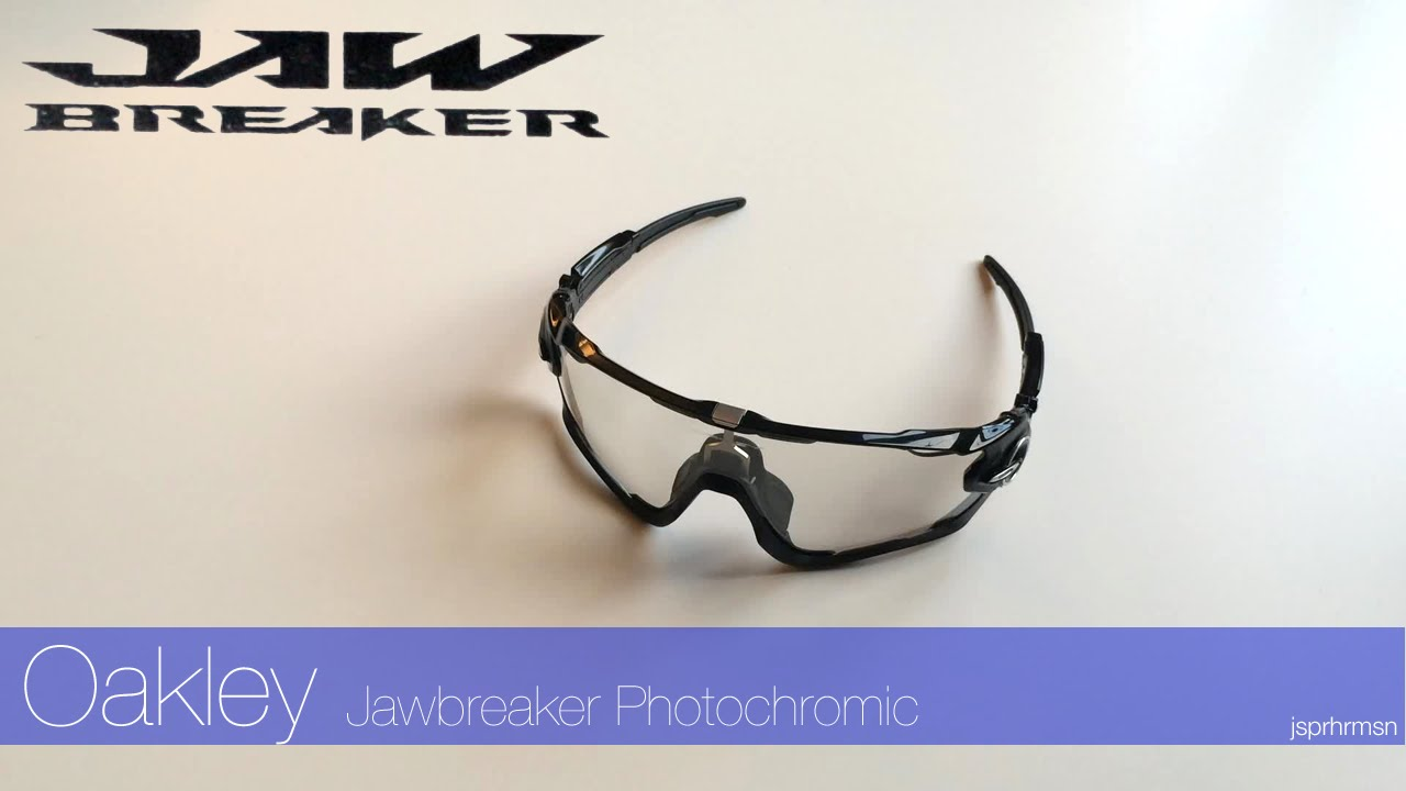 oakley photochromic cycling sunglasses  oakley jawbreaker 2016 photochromic cycling sunglasses unboxing video (review)