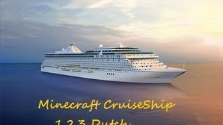 Minecraft Cruise ship Plane 1.2.3 [Dutch]