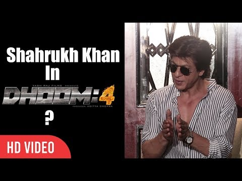 Shahrukh Khan In Dhoom 4 | Shahrukh Khan Interview | SRK 52nd Birthday Press Conference