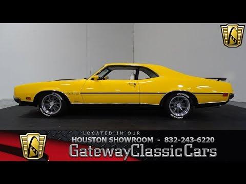 1970 Mercury Cyclone Gateway Classic Cars Stock #1020 in the Houston Showroom