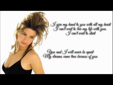 Shania Twain +  From This Moment + Lyrics/HQ