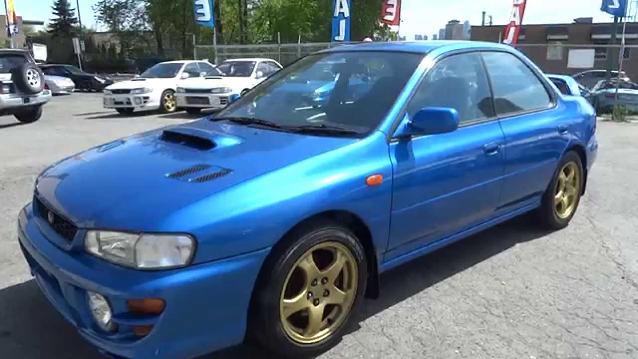 1999 Subaru Impreza WRX STI RA Limited Edition 555 390HP