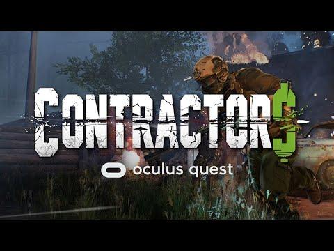 Contractors - Gameplay Oculus Quest