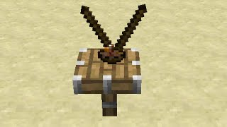 Chopsticks in Minecraft