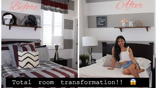 Total room decor transformation!