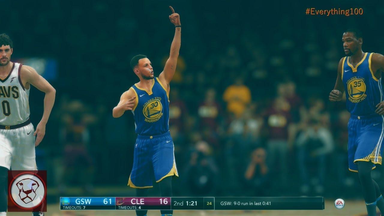 <b>NBA Live</b> 18: <b>Cheat Code</b> Steph - 117 Points - Everything 100 - YouTube
