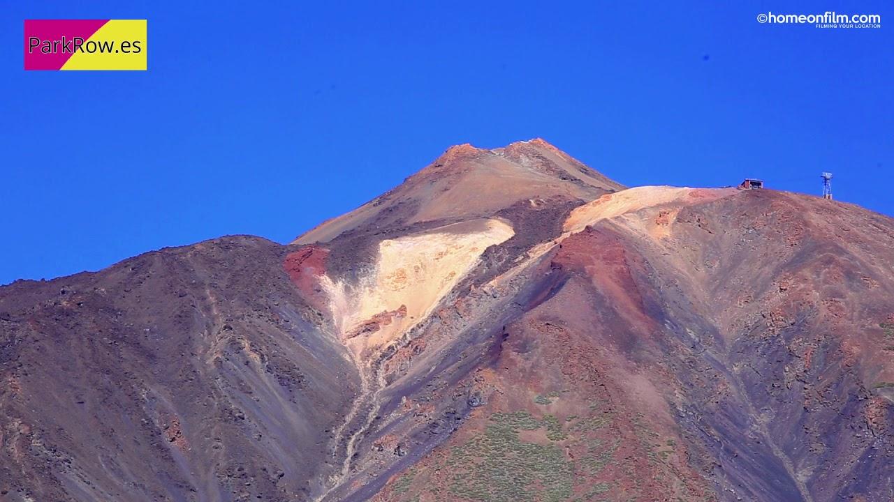 Magnificent Mount Teide in 4K, Tenerife, Spain - YouTube
