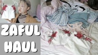 Zaful Summer Clothing Haul && Review/Try-On