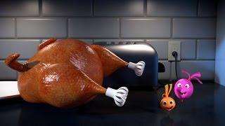 Прикольный мультик «Овощная вечеринка» -Холодная индейка  (81 серия)