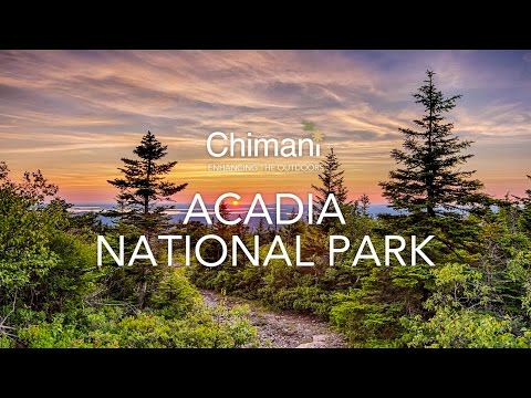 Visiting Acadia National Park with the Chimani Travel Guide App