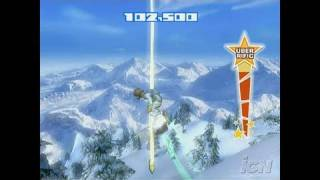 SSX Blur Nintendo Wii Gameplay - Sweet Tricks