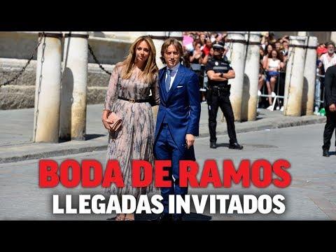 La boda de Sergio Ramos y Pilar Rubio: llegada de los invitados I MARCA