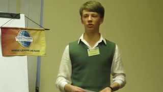 Английский в Киеве: Toastmasters Ukraine English Speaking Club, Kiev 2014: Sasha: Speech at Stage(VIDEO LINK = http://youtu.be/8oI4HSyxoHU Sasha: SPEECH at Table Topic Discussion at ChangeMakers Toastmasters English speaking Club in Kiev, Ukraine., 2014-04-23T05:48:20.000Z)