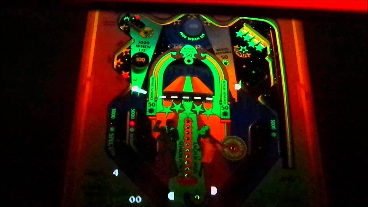 Video Pinball Arcade Game (1978 Atari) in action