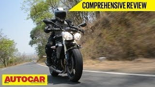2014 Triumph Street Triple | Comprehensive India Roadtest And Review | Autocar India