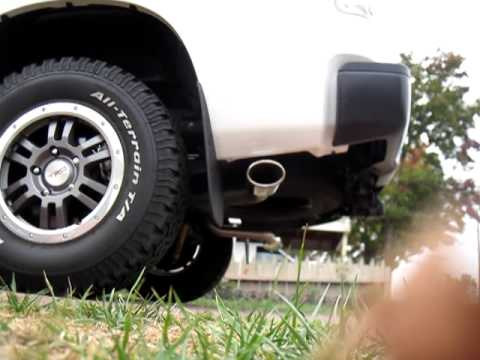 Toyota Tundra Trd True Duals Exhaust System Youtube