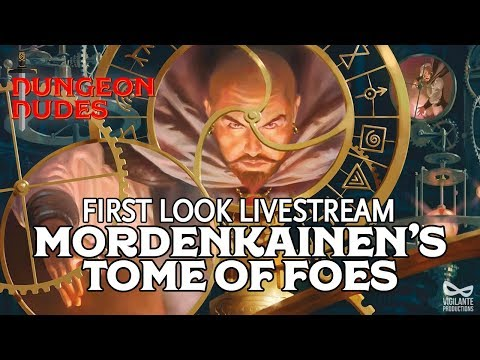Mordenkainen's Tome of Foes Live First Impressions - New Dungeons and Dragons 5e Hardcover Book