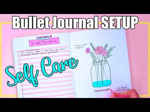 SEITEN Nur Für DICH - Bullet Journal SELF-CARE - Achte Auf DICH