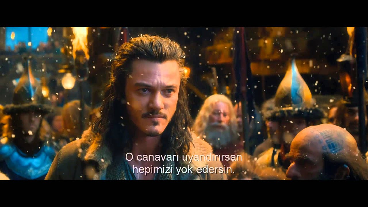 The Hobbit:The Desolation of  Smaug Filminin Türkçe Altyazılı Fragmanı