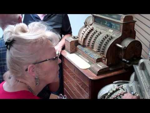 National Cash Register Tech Ed Simmendinger Visit At The Tucson Antique Mall