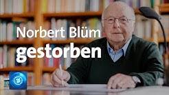 Norbert Blüm gestorben