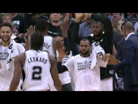 Portland Trail Blazers vs San Antonio Spurs   November 16, 2015   NBA 2015-16 Season