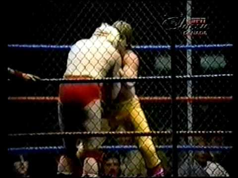 The Midnight Rockers vs Rose & Sommers (cage match)
