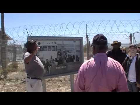 Robben Island Tour Guide describes  the Prison