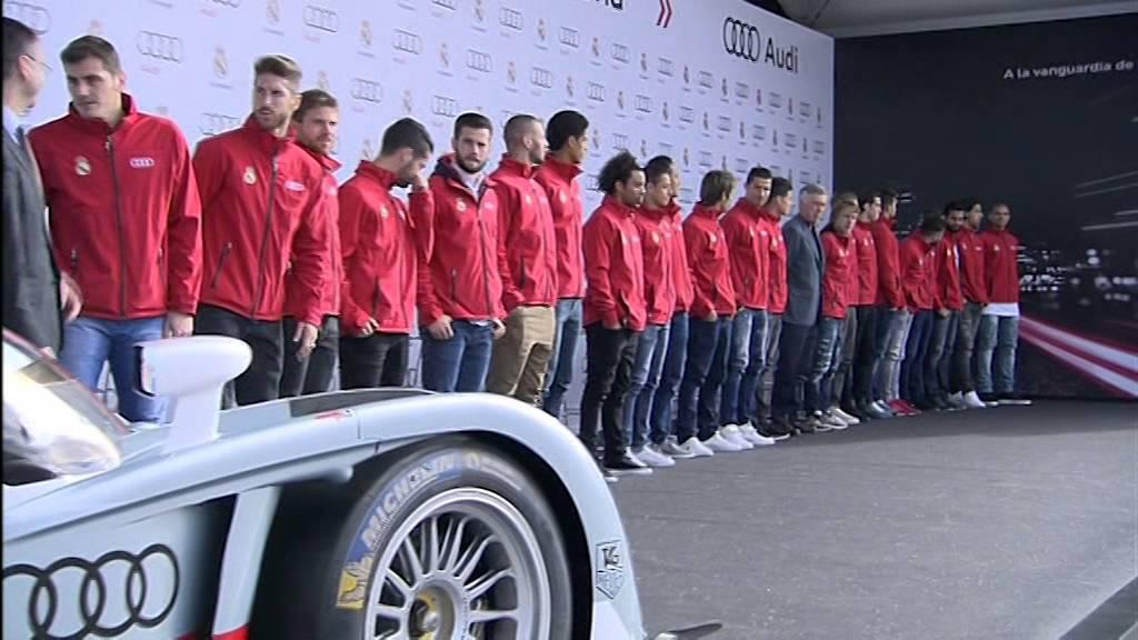 Real Madrid Audi Car Handover Youtube