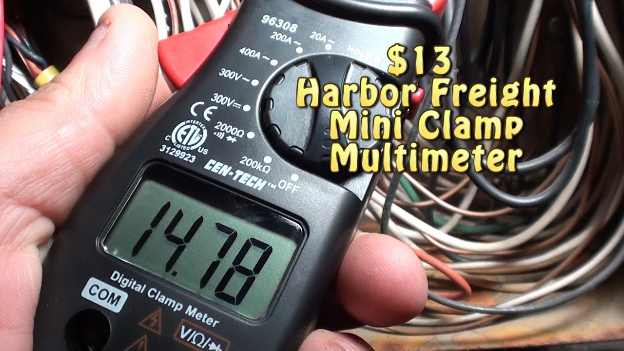Cen Tech 96308 Manual 50 Amp Welder Plug Wiring Diagram Everlast Powerpro 205 Tig Array 13 Harbor Freight Mini Clamp Multimeter A Must Have In Any Tool Rh Youtube