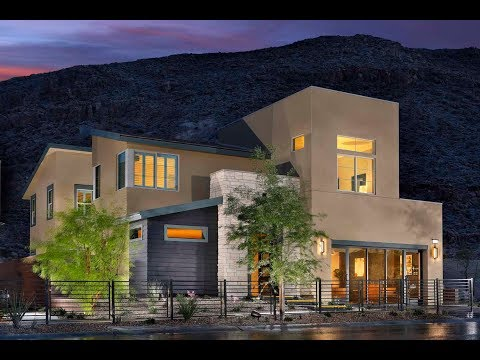 $600,000 Summerlin NV: The Cliffs, Modern Terra Luna by Pardee Homes, Plan 2C, Las Vegas