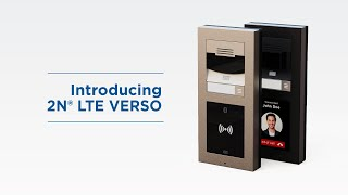Introduction of 2N® LTE Verso   World's first LTE Intercom