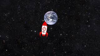 Foguete no Espaço Animation