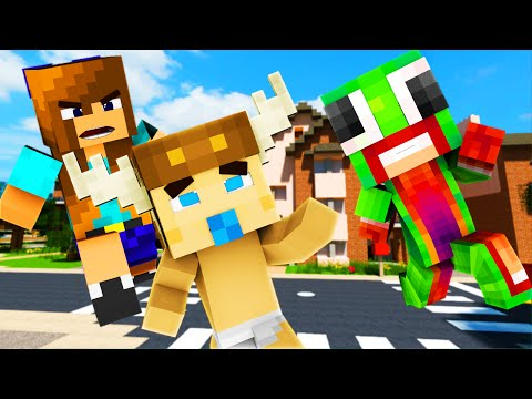 Minecraft - WHO'S YOUR MOMMY - BABY KILLS MOMMY ?! (Who's Your Daddy)