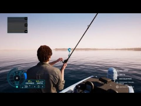 Fishing Sim World - 7 minute Muskie fail |