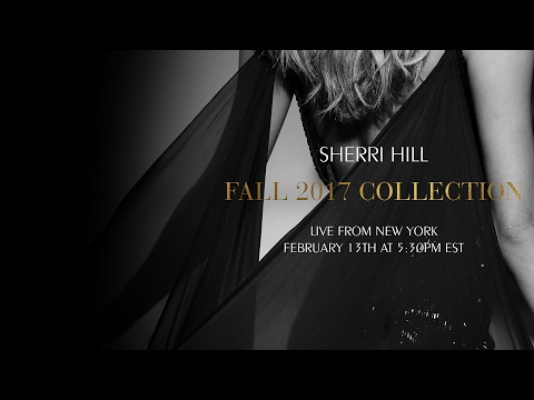 Sherri Hill Fall 2017 Live Runway Show