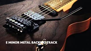 Video Em Heavy Metal Guitar Backing Track download MP3, 3GP, MP4, WEBM, AVI, FLV April 2018