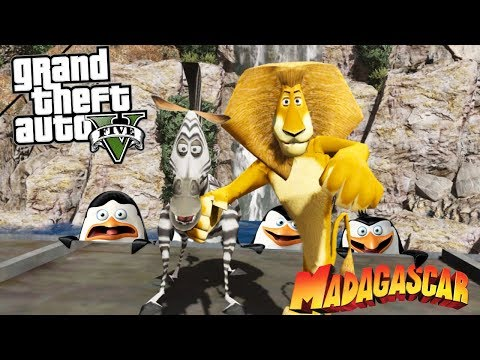 COMO IR PARA O MUNDO DO MADAGASCAR NO GTA V ?!?! (Incrivel)