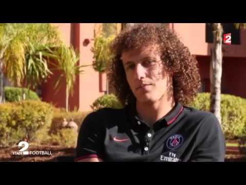 David Luiz entrevista para o Francetv Sport