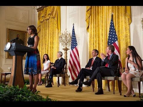 The First Lady Announces the Mayors Challenge to End Veteran Homelessness