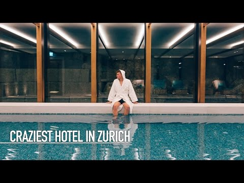 CRAZIEST HOTEL IN ZURICH!